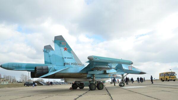 Des bombardiers polyvalents Su-34 - Sputnik France