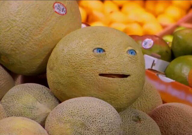 Quand un melon et un pain vous parlent au supermarché