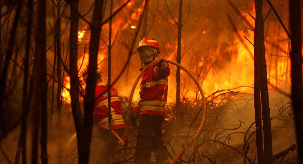 Le Portugal est en feu: l'aviation russe appelée à la rescousse