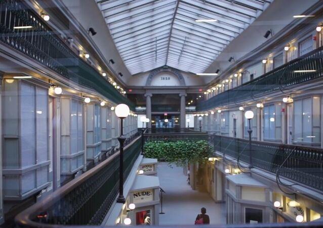 Un ancien centre commercial US se transforme en…  48 apparts!