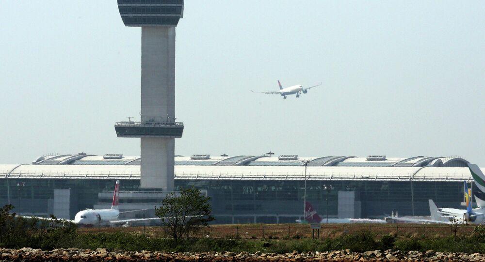l'aéroport international John F. Kennedy (New York)