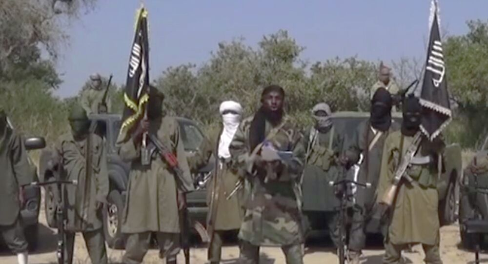 Djihadistes de Boko Haram. Archive photo