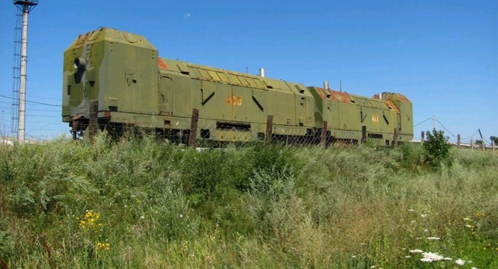 un train blindé