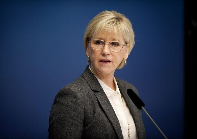 La chef de la diplomatie suédoise Margot Wallström