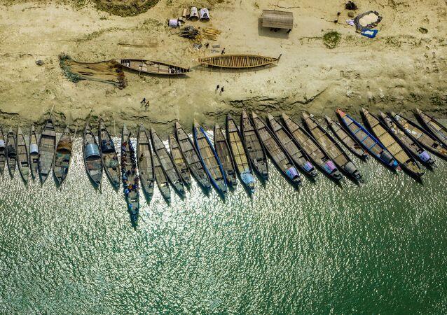 La surprenante beauté du Bangladesh vu depuis le ciel