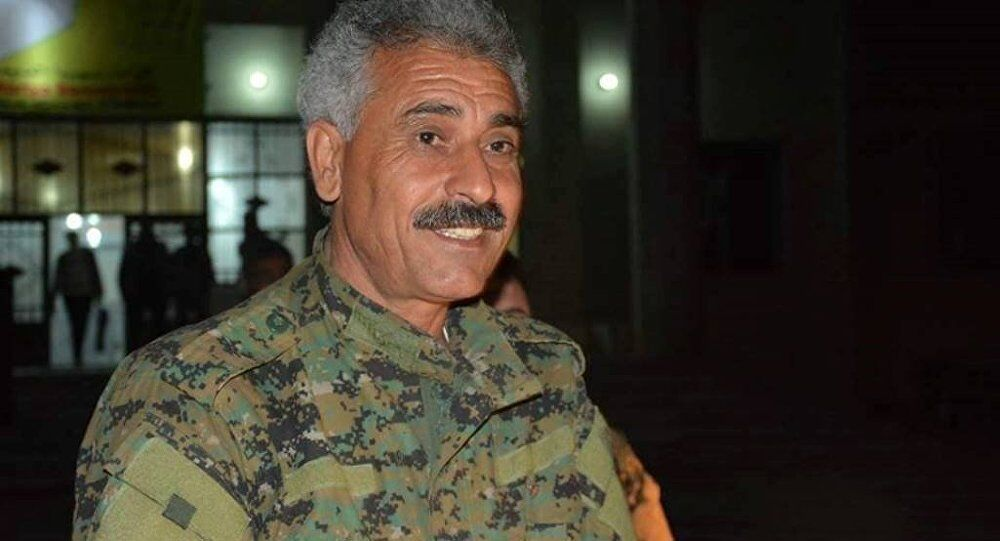 Abdulaziz Younus, porte-parole des Forces déocratiques syriennes