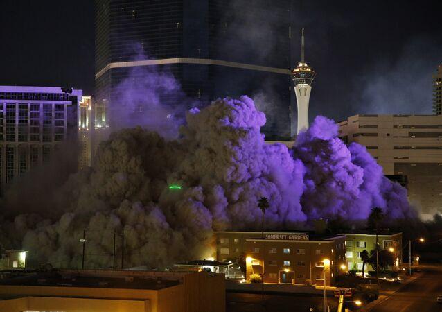 Démolition du casino Riviera