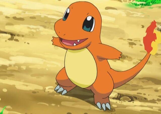 Salamèche, espèce rare de Pokémon