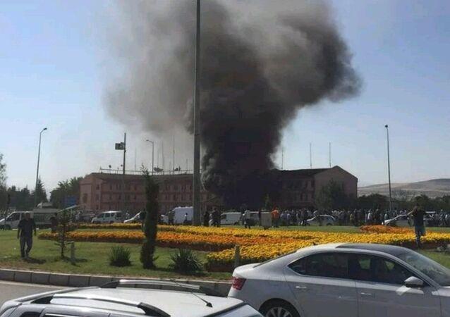 L'explosion s'est éclaté près de poste de police à l'Est de la Turquie