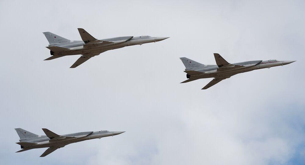 Des bombardiers russes Tu-22M3 à long rayon d'action