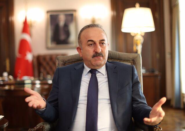 Le ministre turc des Affaires étrangères Mevlüt Cavusoglu