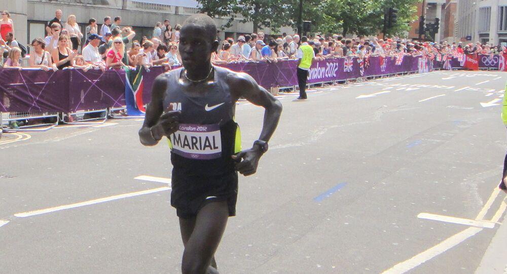 Le coureur sud-soudanais Guor Marial