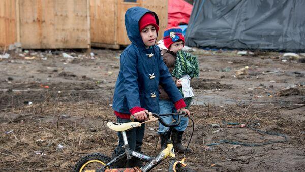 Des enfants réfugiés - Sputnik France
