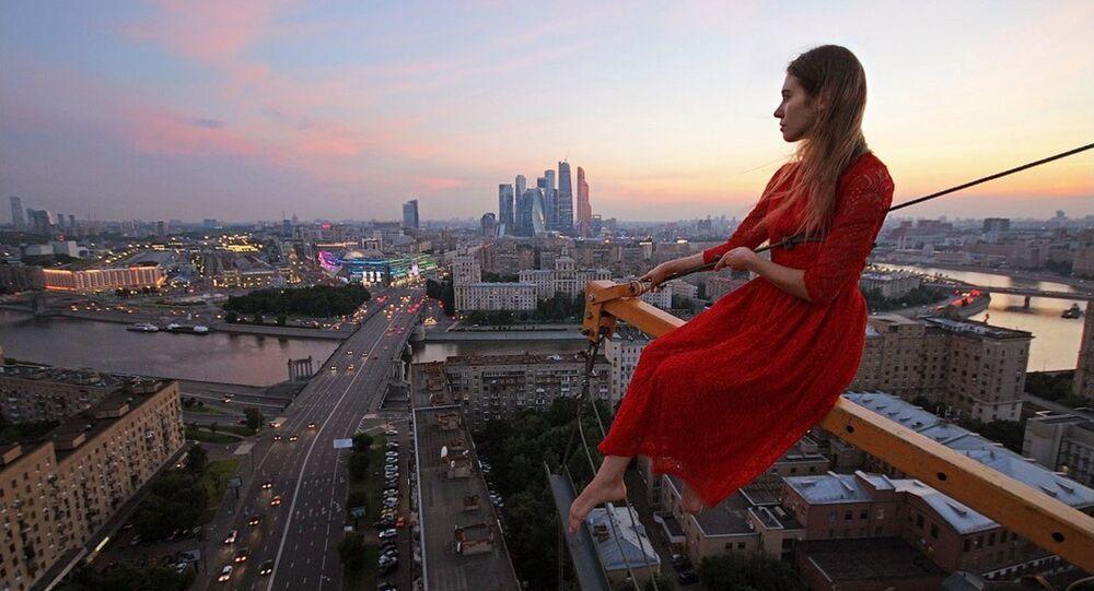 Les photos de cette Russe vous donneront le vertige