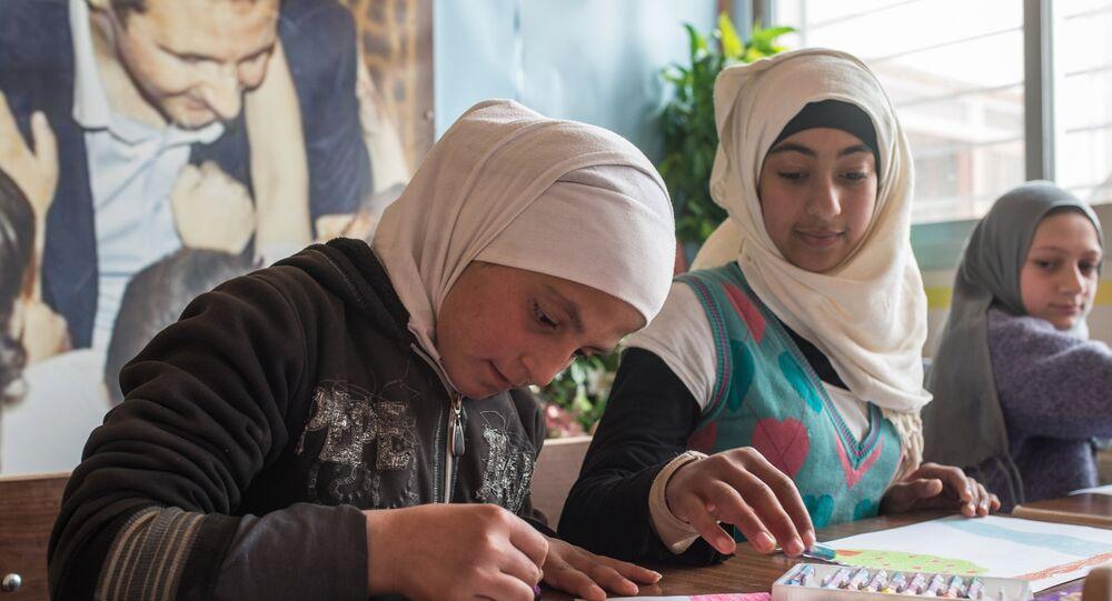 Les enfants syriens dessinent