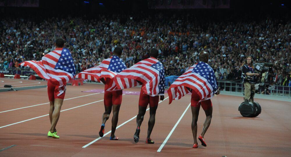 Equipe relais américaine du 4x100