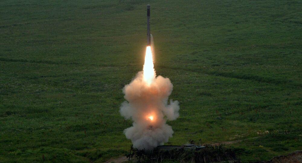 Lancement d'un missile par le système Bastion