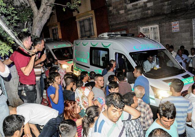 Attentat à la bombe lors d'un mariage en Turquie