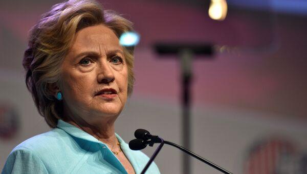 La candidate démocrate à l'élection présidentielle aux Etats-Unis, Hillary Clinton - Sputnik France
