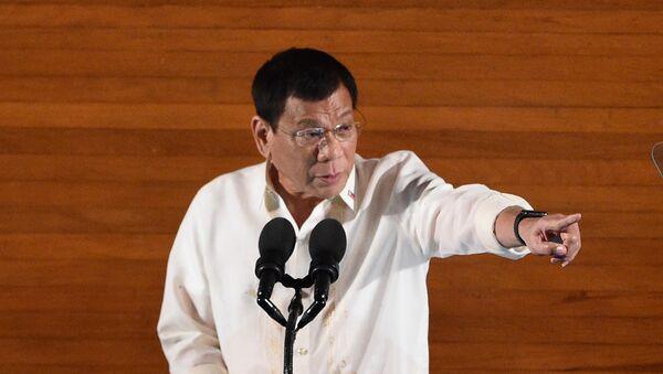 Le président des Philippines, Rodrigo Duterte - Sputnik France