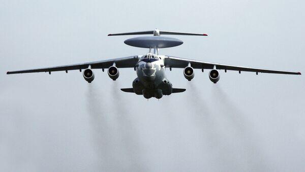 L'avion de reconnaissance russe A-50 - Sputnik France
