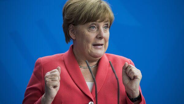 Angela Merkel, chancelière allemande - Sputnik France