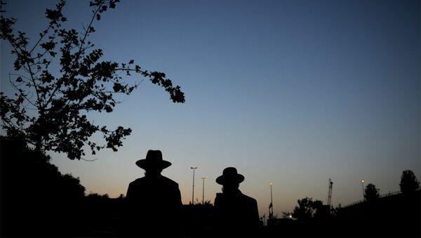 Des Juifs ultra-orthodoxes - Sputnik France