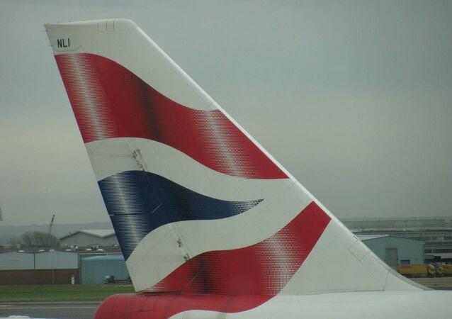 Un Boeing 747 de British Airways à l'aéroport de Heathrow