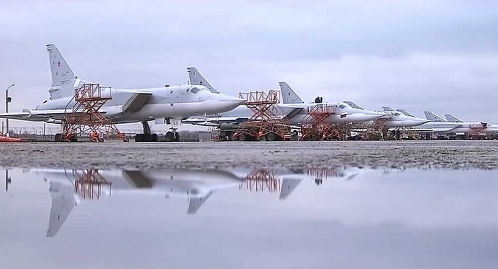 Les bombardiers stratégiques russes Tu-22M3