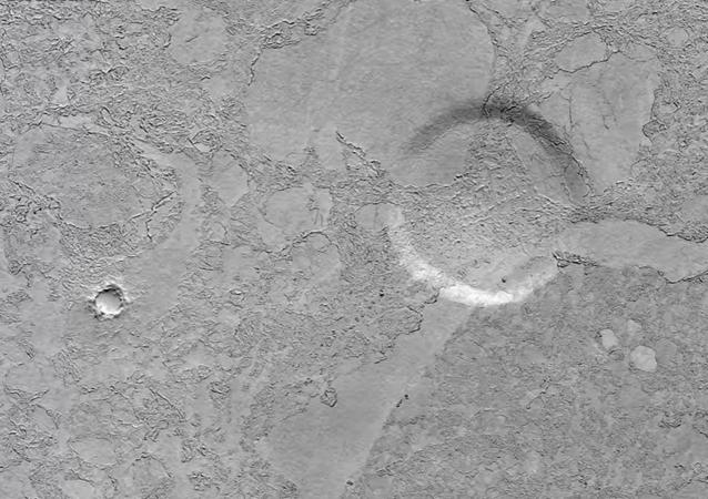 Le site d'atterrissage des extraterrestres découvert sur Mars?