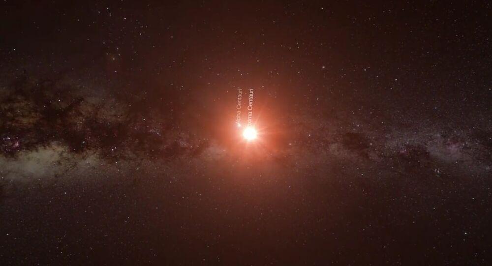 Alfa Centauri Proxima Centauri