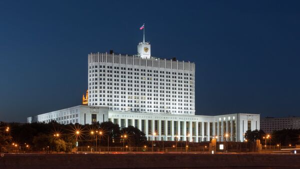 Le bâtiment du gouvernement russe - Sputnik France