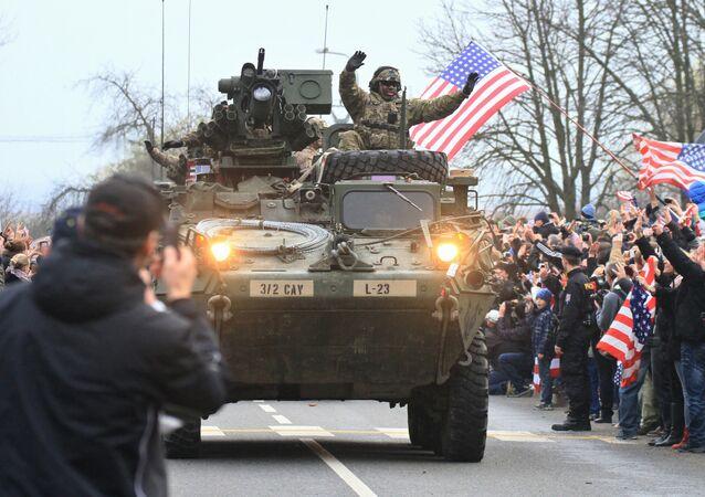 Convoi militaire US