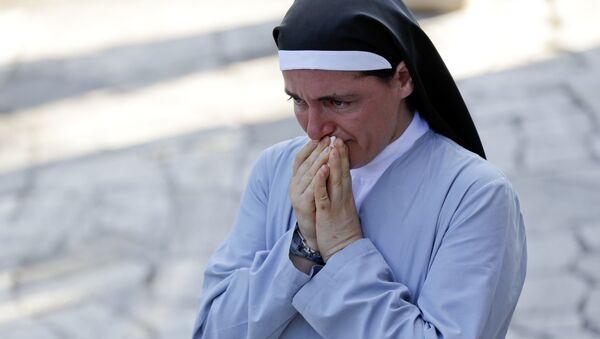 Séisme en Italie: une religieuse miraculeusement sauvée - Sputnik France
