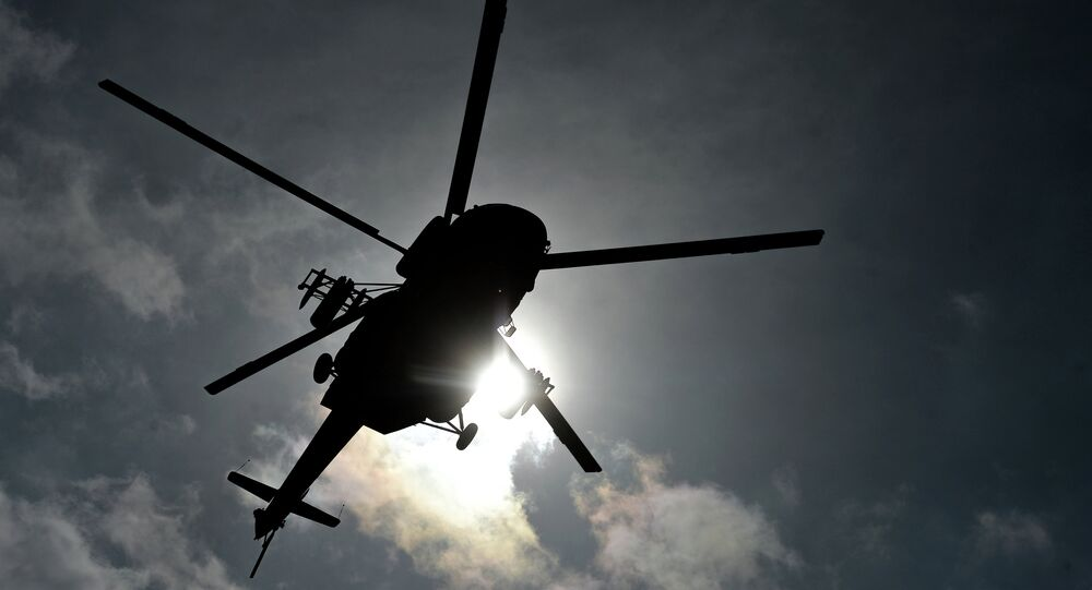 Un hélicoptère Mi-8