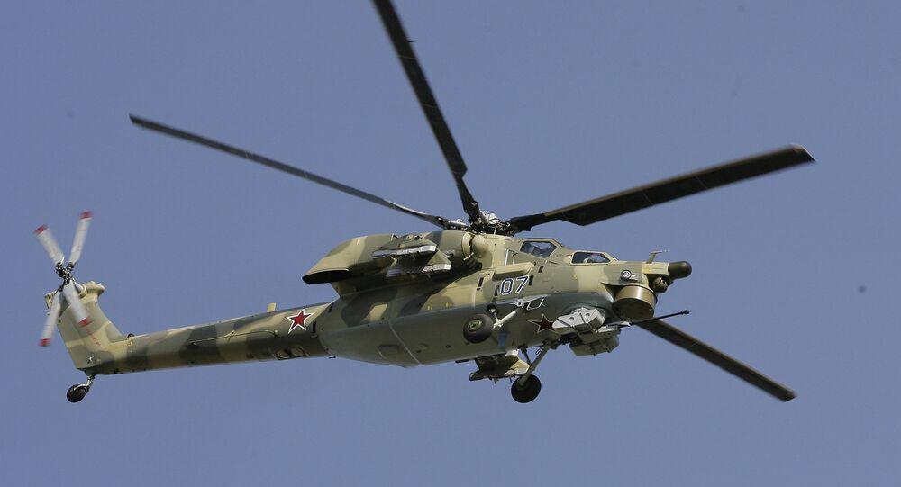 Hélicoptère russe Mi-28N