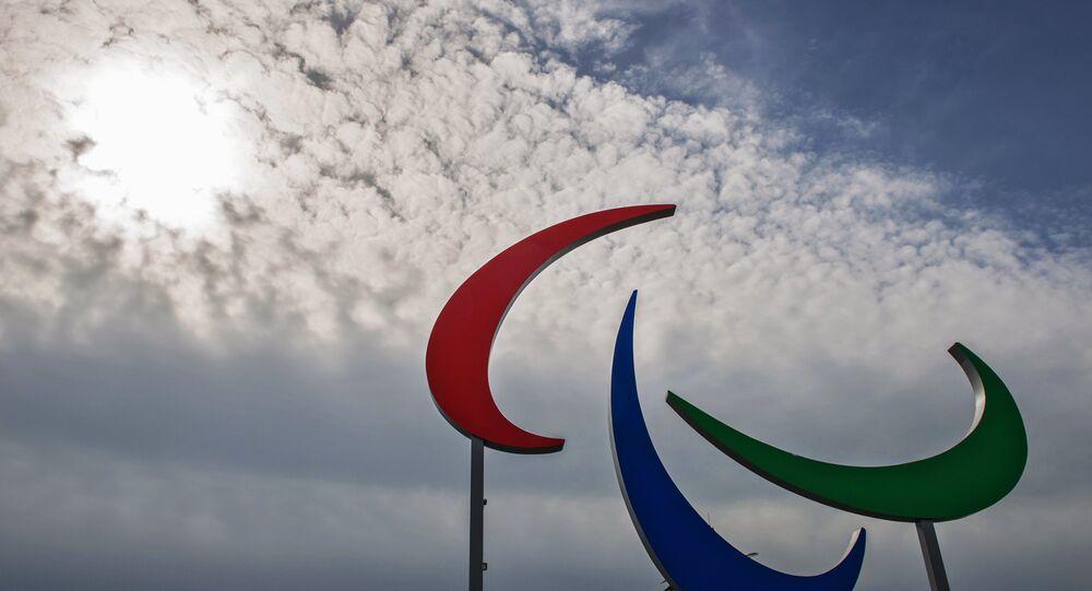 Jeux paralympiques, logo