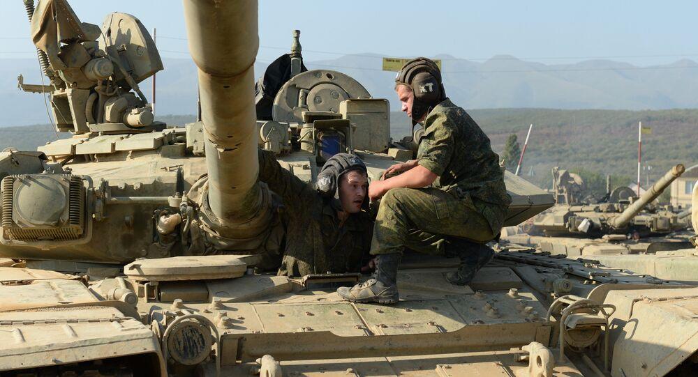 Тактические занятия мотострелковой бригады ЮВО МО РФ в Дагестане