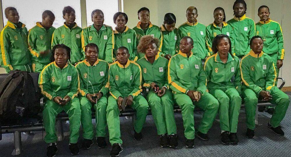 sportifs de l'équipe olympique du Zimbabwe