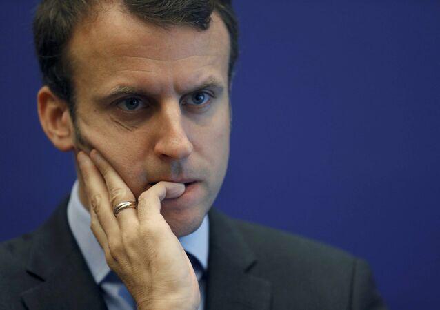 Emmanuel Macron (archive photo)