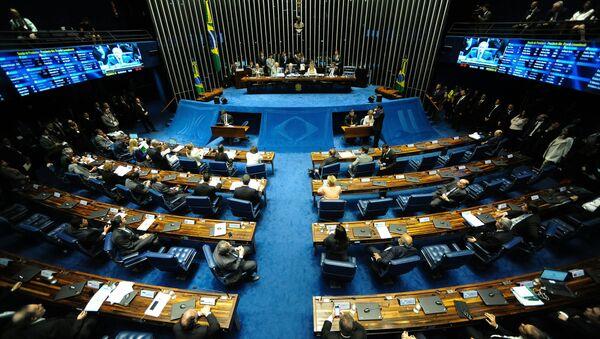 Une séance plénière du Sénat brésilien à Brasilia - Sputnik France