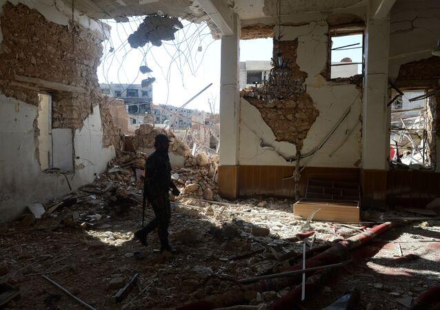 Daraya, banlieue de Damas