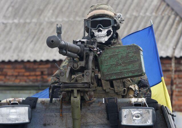 Soldat ukrainien