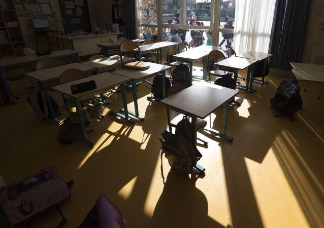 salle de classe, image d'illustration