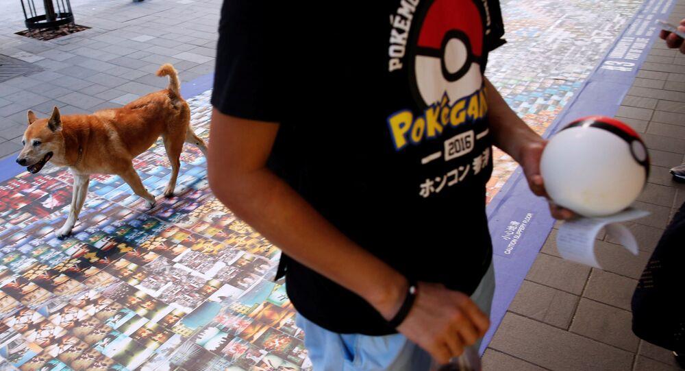 Chasseur de Pokemon. Image d'illustration