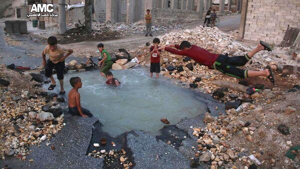 Les enfants en Syrie - Sputnik France
