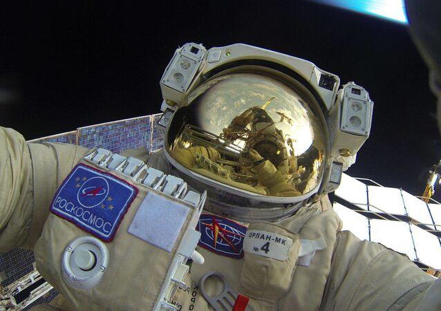 Un cosmonaute russe
