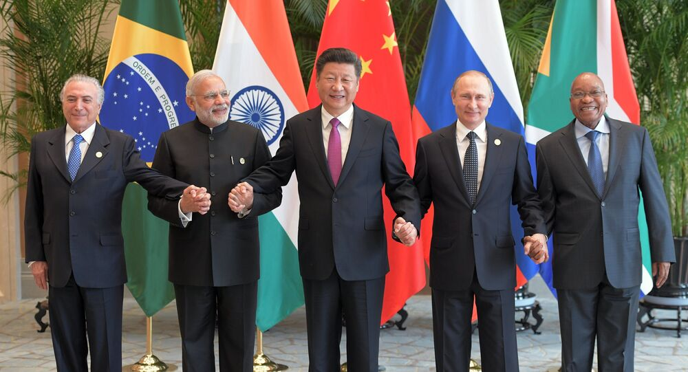 Une réunion informelle des pays des BRICS