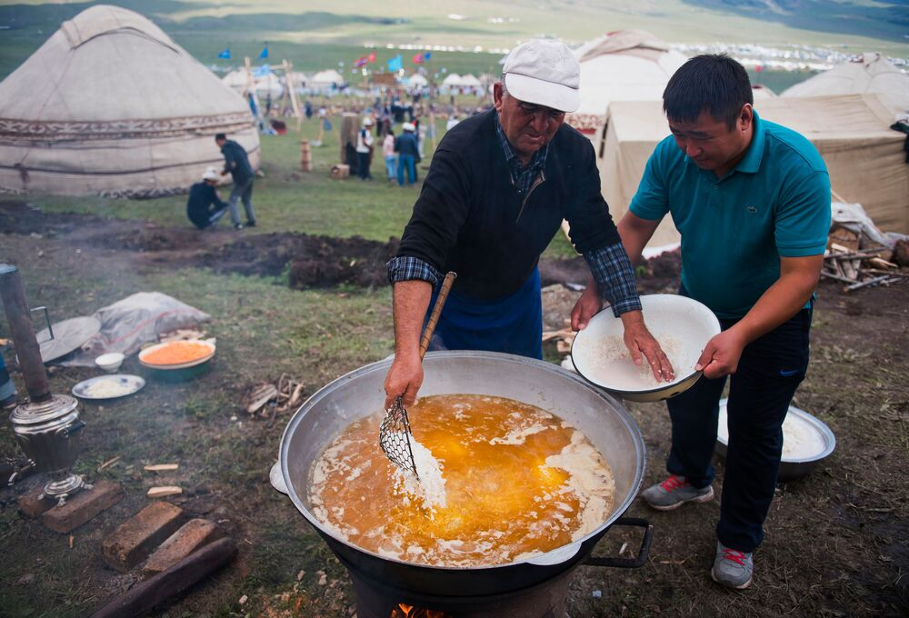 Get Into The Kyrgyz Spirit of a Nomad's Life
