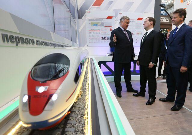 Les chemins de fer russes ouverts aux investissements